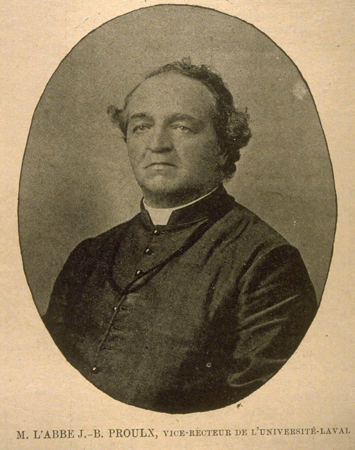 PROULX, JEAN-BAPTISTE, Roman Catholic priest and author