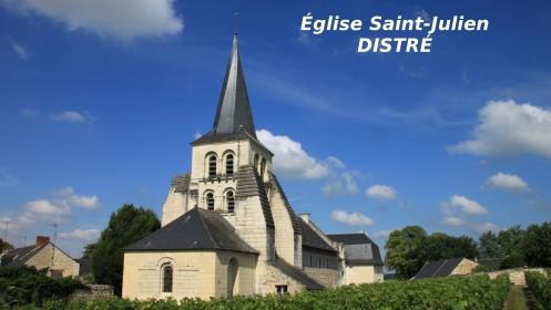 Distré en Saumur et Loire: de là est venu Jean Prou, l'époux de Jacquette Fournier
