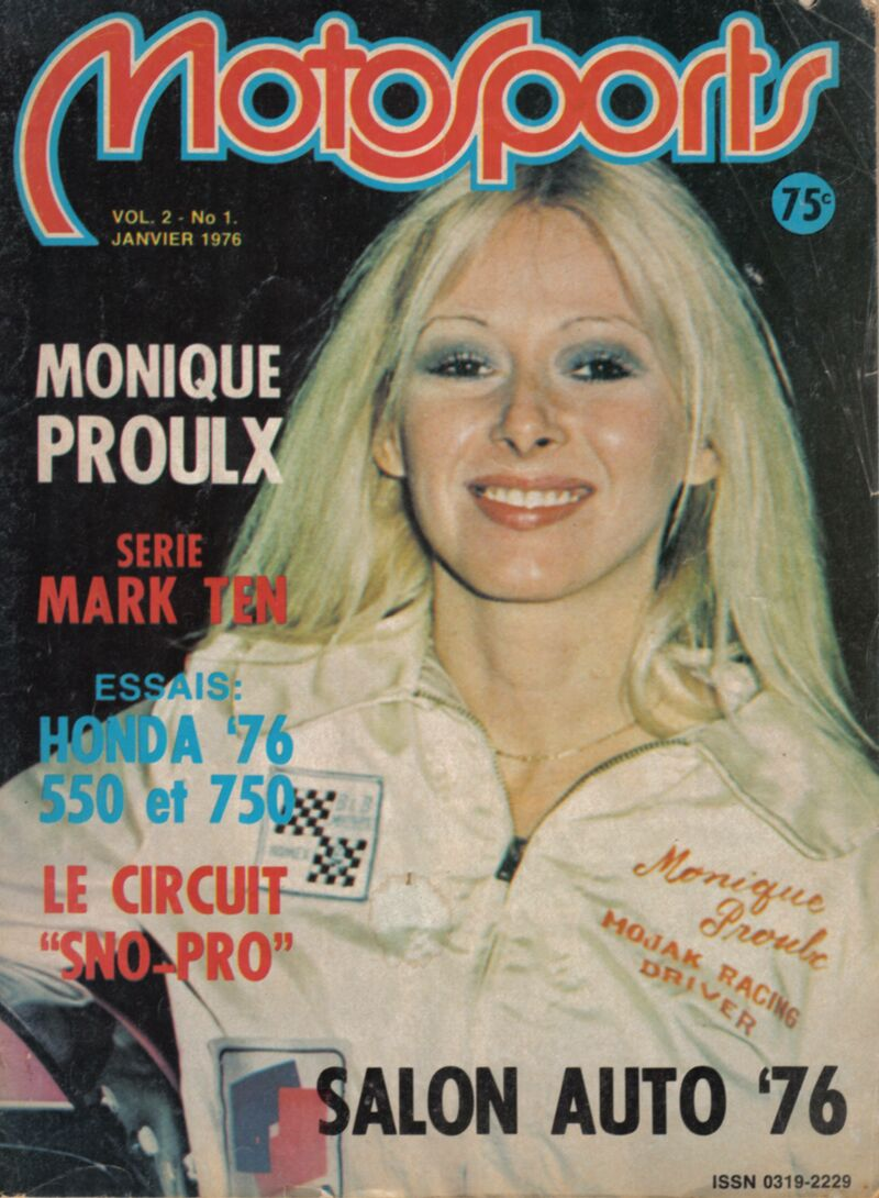 Who knew Monique Proulx, racing driver?