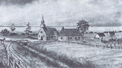 St-Thomas de Montmagny, paroisse d'élection de Jean Prou et de Jacquette Fournier