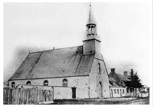 Jacques Prou et Jeanne Pilon se sont mariés dans cette église