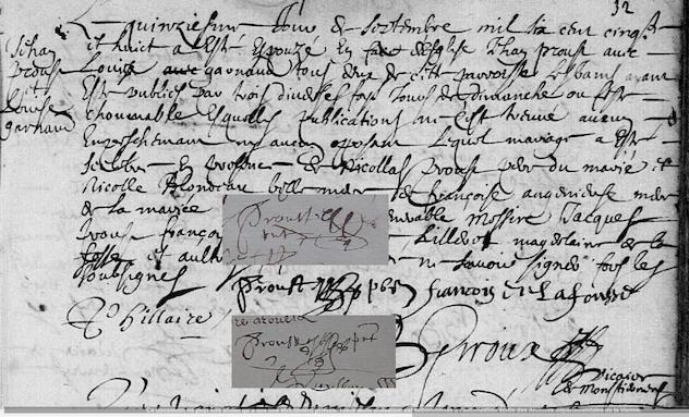Nouveau titre dans notre bibliographie sur la filiation de Jean Prou de Neuville