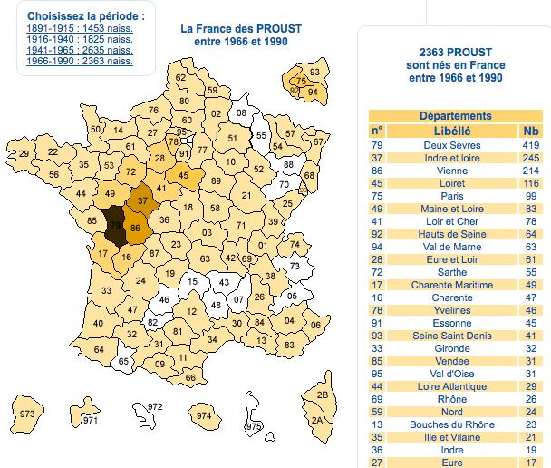 Devinez où vivent nos cousins français?