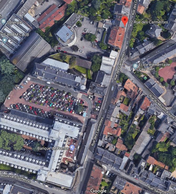 Jean Proust et Jeanne Chabot habitaient rue Tranchepied à Poitiers