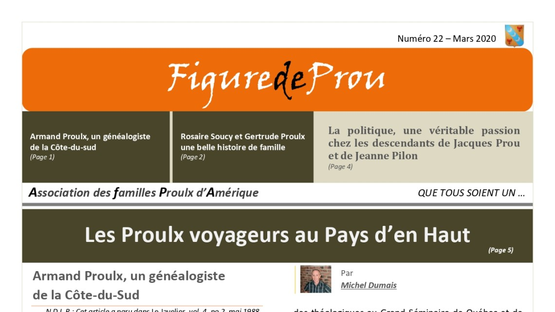 No 22 of Figure de Prou: Genealogy, Family, Politics and Travellers!