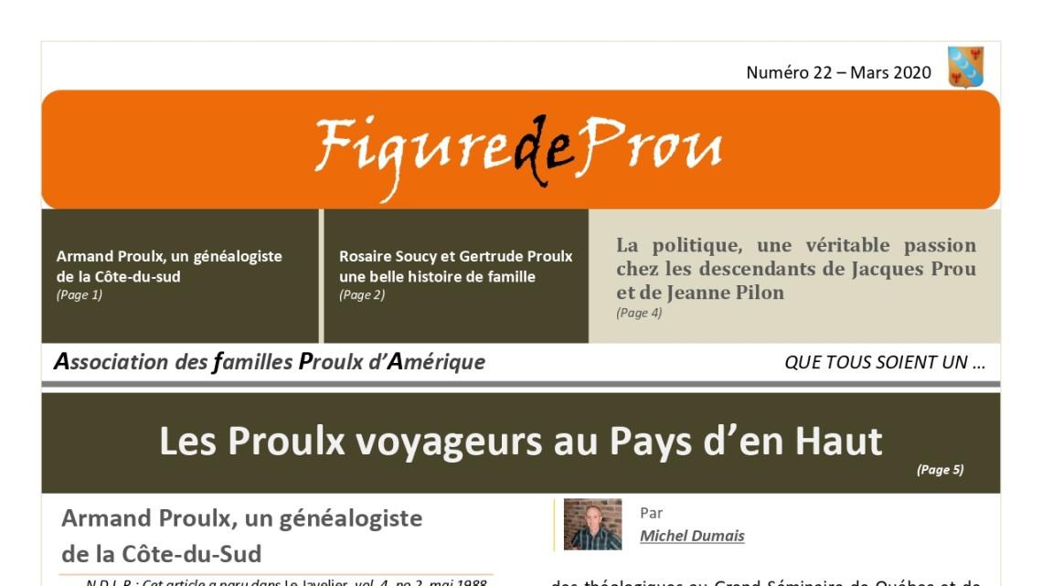 No 22 of Figure de Prou: Genealogy, Family, Politics and Travellers!