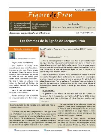 Summary of Figure de Prou, issue 15